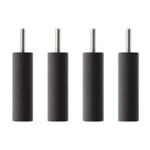 TAOC オーディオラック用オプション支柱セット BSRシリーズ ブラックつや消し BSR-P410
