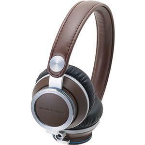 Audio-Technica ポータブルヘッドホン ATH-RE700 BW