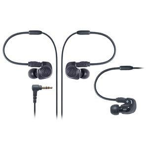 Audio-Technica デュアル・シンフォニックドライバーインナーイヤーモニターヘッドホン ATH-IM50 BK
