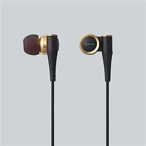 エレコム ハイレゾ音源対応 ステレオヘッドホン ゴールド EHP-CH1000GD
