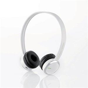 エレコム Bluetoothオーバヘッドヘッドホン ホワイト LBT-OH04WH