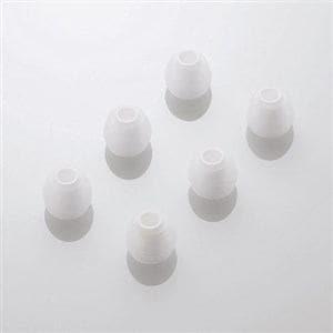 エレコム スペアイヤーキャップ ホワイト Sサイズ 6個入 EHP-CAP20SWH