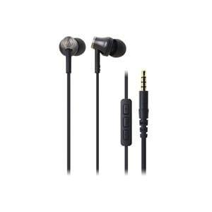 オーディオテクニカ iPod/iPhone/iPad専用インナーイヤーヘッドホン ブラック ATH-CK330i-BK