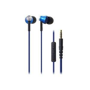オーディオテクニカ iPod/iPhone/iPad専用インナーイヤーヘッドホン ブルー ATH-CK330i-BL