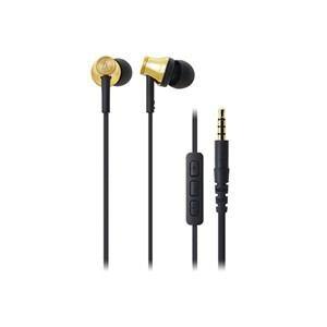 オーディオテクニカ iPod/iPhone/iPad専用インナーイヤーヘッドホン ゴールド ATH-CK330i-GD