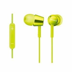 ソニー MDR-EX150IP-G iPod/iPhone/iPad対応ダイナミック密閉型 インナーイヤーイヤホン (ライムグリーン)