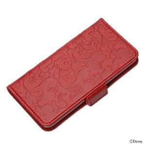 PGA iPod touch(第5世代)用 フリップカバー ミッキーマウス PG-IT5DF01MKY