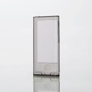 エレコム iPod nano用透明シリコンケース クリアブラック AVA-N15SCTBK