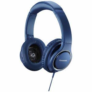 パナソニック RP-HD5-A 【ハイレゾ音源対応】 ヘッドホン(ブルー)