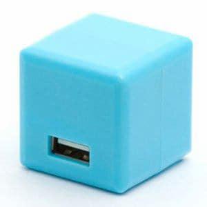 京ハヤ JK2089BL iPad/iPhone/iPod対応ACアダプター ブルー
