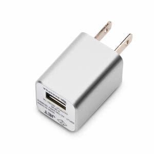 PGA WALKMAN,Smartphone用 USB電源アダプタ 1A シルバー PG-WAC10A02SV