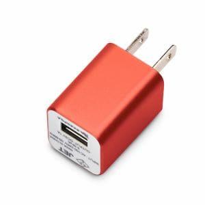 PGA WALKMAN,Smartphone用 USB電源アダプタ 1A レッド PG-WAC10A06RD