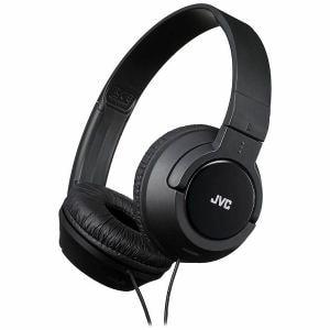 JVCケンウッド ダイナミック型 バンドポータブルステレオヘッドホン ブラック HA-S240-B