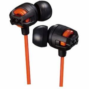 JVCケンウッド HA-FX101M-D インナーイヤーヘッドホン オレンジ