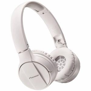パイオニア SE-MJ553BT-W Bluetooth搭載ダイナミック密閉型ヘッドホン(ホワイト)