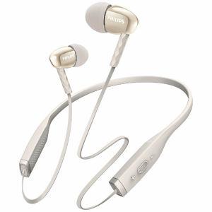 フィリップス SHB5950WT Bluetooth対応イヤホン(ホワイト)