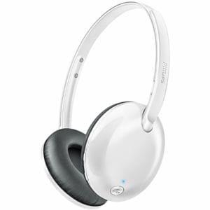 フィリップス SHB4405WT Bluetoothオンイヤーヘッドホン ホワイト