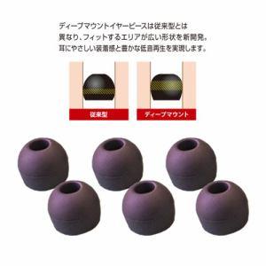 ラディウス HP-DME01K ディープマウントイヤピースL Neシリーズ Lサイズ ブラック