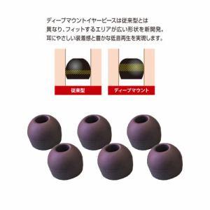 ラディウス HP-DME04K ディープマウントイヤピースXS Neシリーズ XSサイズ ブラック