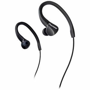 パイオニア SE-E3B 耳かけカナル型イヤホン ブラック