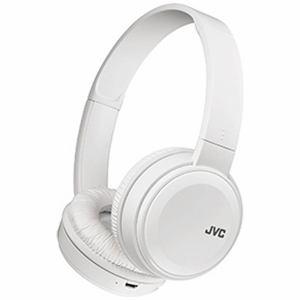 JVC HA-S38BT-W Bluetoothワイヤレスステレオヘッドホン ホワイト