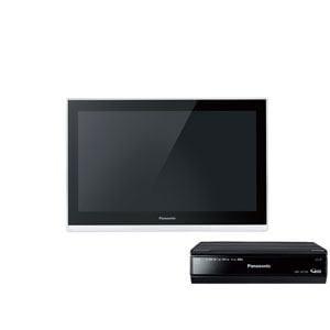 Panasonic 10V型ネットワークディスプレイ付500GB HDDレコーダー UN-JL10T3-K