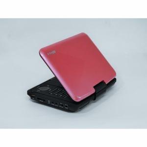 Wizz DV-PW920P 9インチポータブルDVDプレーヤー (ピンク色)