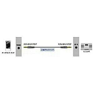 ビクター (ブラック) ステレオミニ-ステレオミニ オーディオコード 1m CN-MM100-B