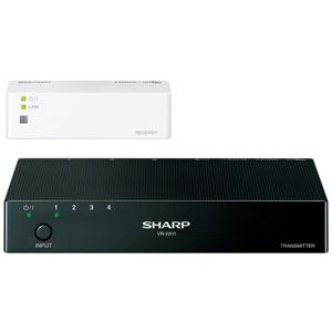 <ヤマダ> シャープ 無線HDMI送受信ユニット VR-WH1 VRWH1画像