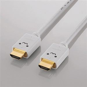 エレコム イーサネット対応HIGHSPEED HDMIケーブル 3.0m ホワイト DH-HD14E230WH