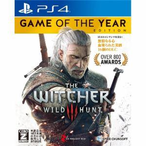 ウィッチャー3 ワイルドハント ゲームオブザイヤーエディション PS4 PLJS-74015