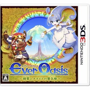任天堂 Ever Oasis 精霊とタネビトの蜃気楼 3DS CTR-P-BAGJ