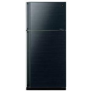 シャープ SJ-55W-B 2ドア冷蔵庫(545L・右開き)  ブラック系
