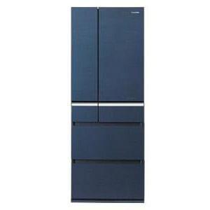 Panasonic エコナビ ナノイー フルフラットガラスドア 6ドア冷蔵庫(505L) NR-F518XG-B