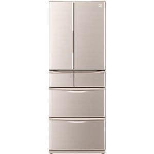 【お買い得チケット対象】シャープ SJ-XF44A-C 6ドア冷蔵庫 「XFシリーズ」(440L・フレンチドア) ベージュ系