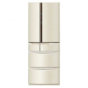 パナソニック 6ドア冷蔵庫 (508L・フレンチドア) シャンパン NR-F510V-N