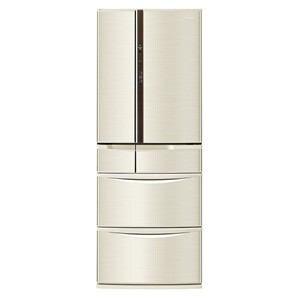 パナソニック 6ドア冷蔵庫(455L・フレンチドア) シャンパン NR-F460V-N