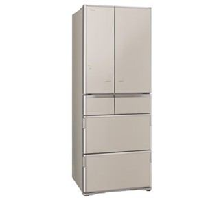 日立 R-X5200F-XN 6ドア冷蔵庫 「真空チルド Xシリーズ」(505L・フレンチドア) クリスタルシャンパン