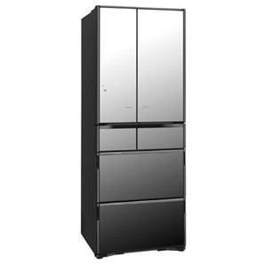 日立 R-X5200F-X 6ドア冷蔵庫 「真空チルド Xシリーズ」(505L・フレンチドア) クリスタルミラー