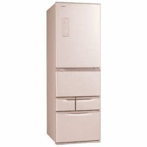 東芝 GR-J43G-NP 5ドア冷蔵庫 (410L・右開き) ピンクゴールド