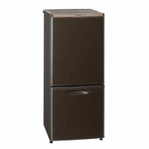 パナソニック NR-B148W-T 2ドア冷蔵庫 (138L・右開き) マホガニーブラウン