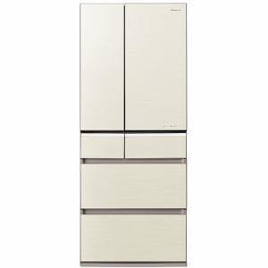 パナソニック NR-F511PV-N 6ドア冷蔵庫 「PVタイプ」(510L・フレンンチドア) シャンパンゴールド