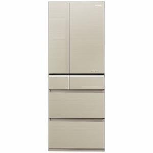 パナソニック NR-F511XPV-N 6ドア冷蔵庫 「XPVタイプ」(510L・フレンチドア) マチュアゴールド