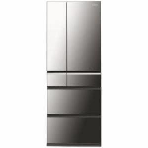 パナソニック NR-F511XPV-X 6ドア冷蔵庫 「XPVタイプ」(510L・フレンチドア) オニキスミラー