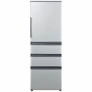 AQUA AQR-361E-S 4ドア冷蔵庫 (355L・右開き)ミスティシルバー