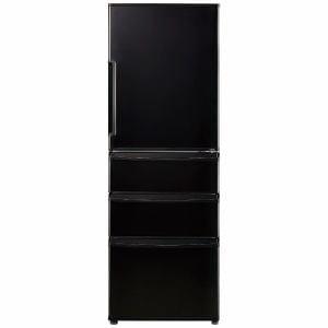 AQUA AQR-361E-K 4ドア冷蔵庫 (355L・右開き)ピアノブラック