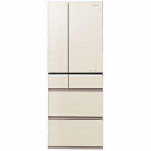 パナソニック NR-F502PV-N 6ドア冷蔵庫 「PVタイプ」(501L・フレンチドア) シャンパンゴールド