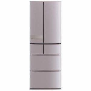 三菱 MR-JX52A-N 6ドア冷蔵庫(517L・フレンチドア) ローズゴールド