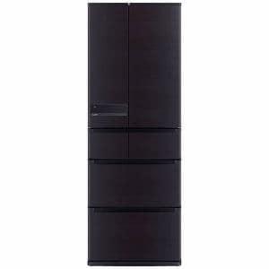 三菱 MR-JX52A-RW 6ドア冷蔵庫(517L・フレンチドア) ロイヤルウッド
