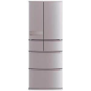 三菱 MR-JX47LA-N 6ドア冷蔵庫(470L・フレンチドア) ローズゴールド